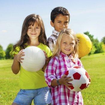 Deportes con los niños