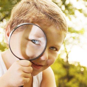 Niños curiosos. La curiosidad de los niños