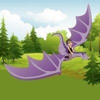 Las lágrimas del dragón. Cuento de paz para niños