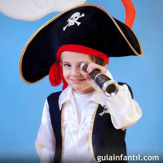 Cómo hacer un disfraz de pirata infantil 3d0e878d24a