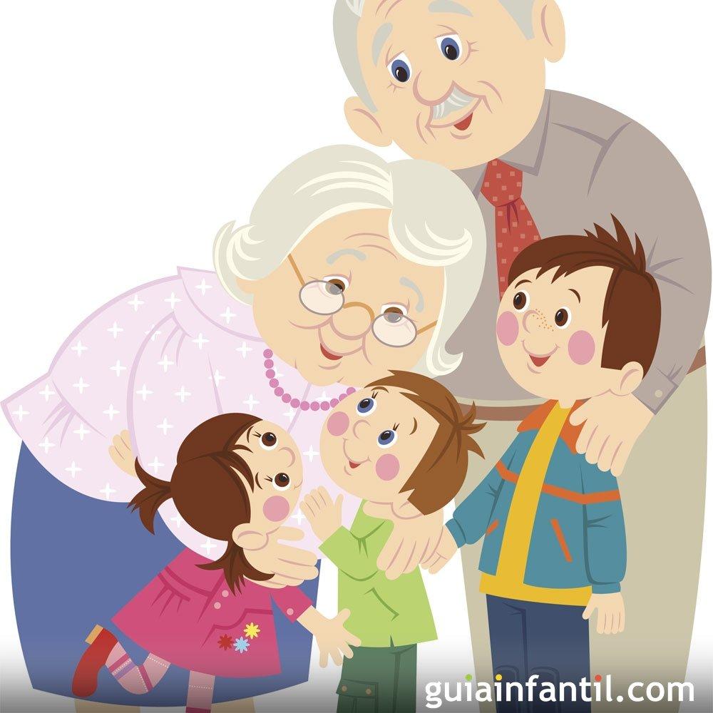 A los abuelos y abuelas. Poemas infantiles cortos