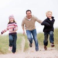 Padres que compiten con sus hijos