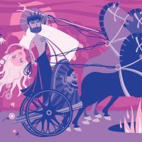 Perséfone y las cuatro estaciones. Leyendas cortas para niños