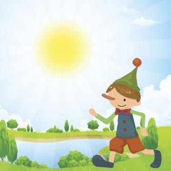 Canción de Pinocho para cantar con los niños