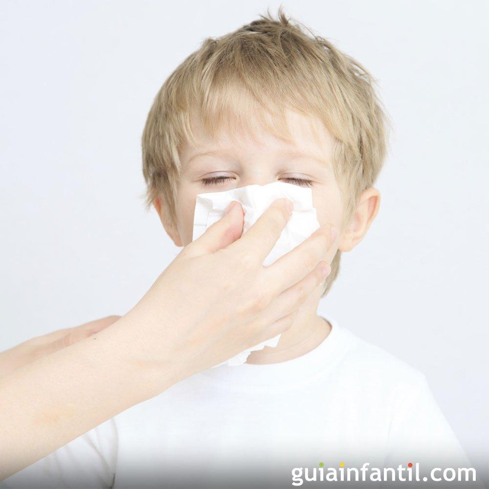 Remedio Casero Para Tratar La Rinitis Y Sinusitis De Los Niños