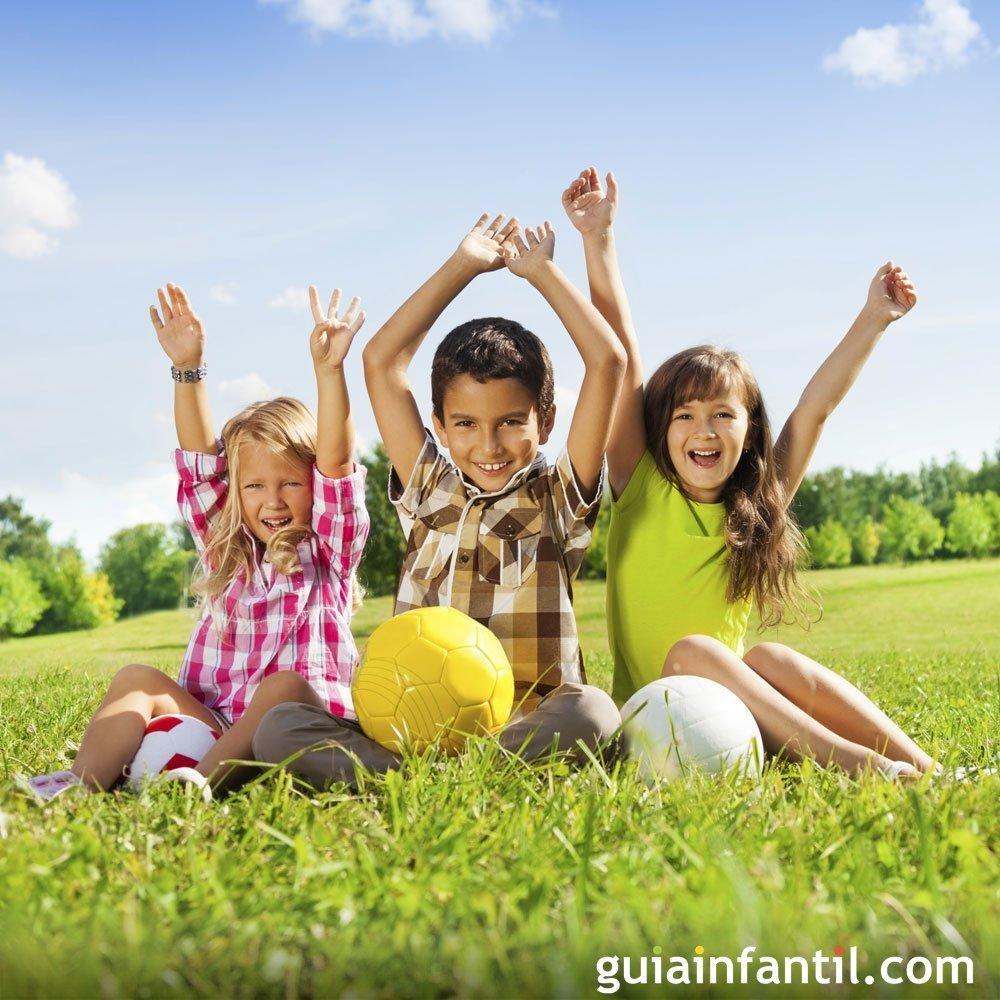 Beneficios de jugar al aire libre con los ni os for Peces para estanques al aire libre