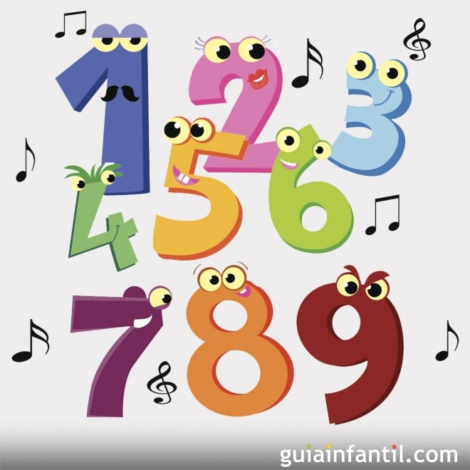 Los Números Canciones Para Niños