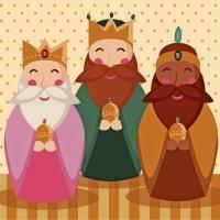 Los tres reyes magos. Villancico para niños