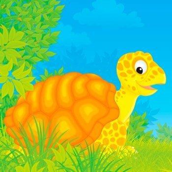 Las travesuras de Hermés con las tortugas