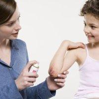 Antisépticos para curar heridas