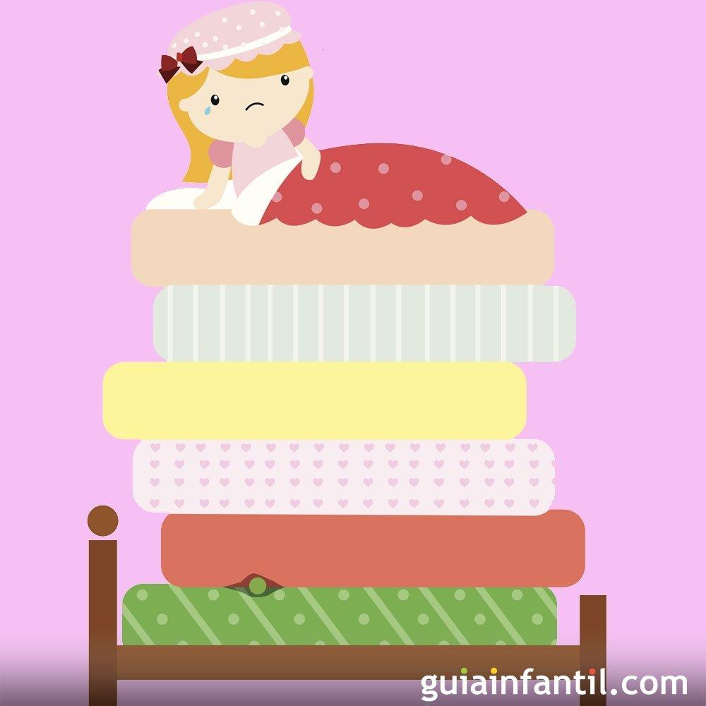 La princesa y el guisante. Cuentos cortos para niños