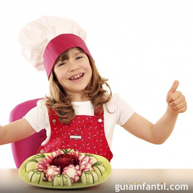 10 aperitivos divertidos y sencillos para niños