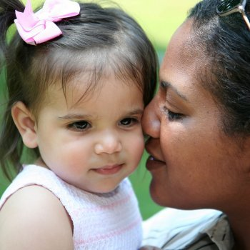 El enamoramiento en la adopción del niño