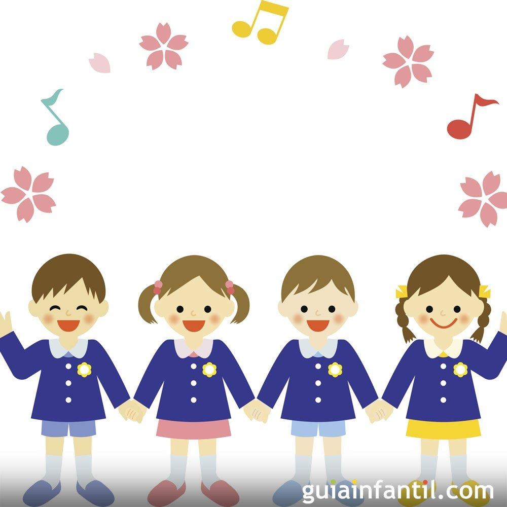 Voy a la escuela. Canciones de colegio