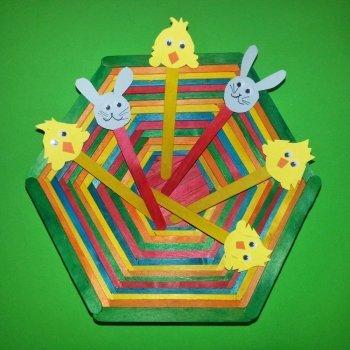Cómo hacer una cesta para los huevos de Pascua