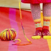 Manualidades con lana para niños