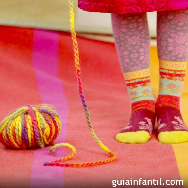 Manualidades con lana para nios