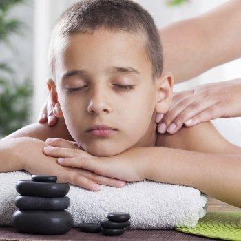 Beneficios de la reflexología para los niños
