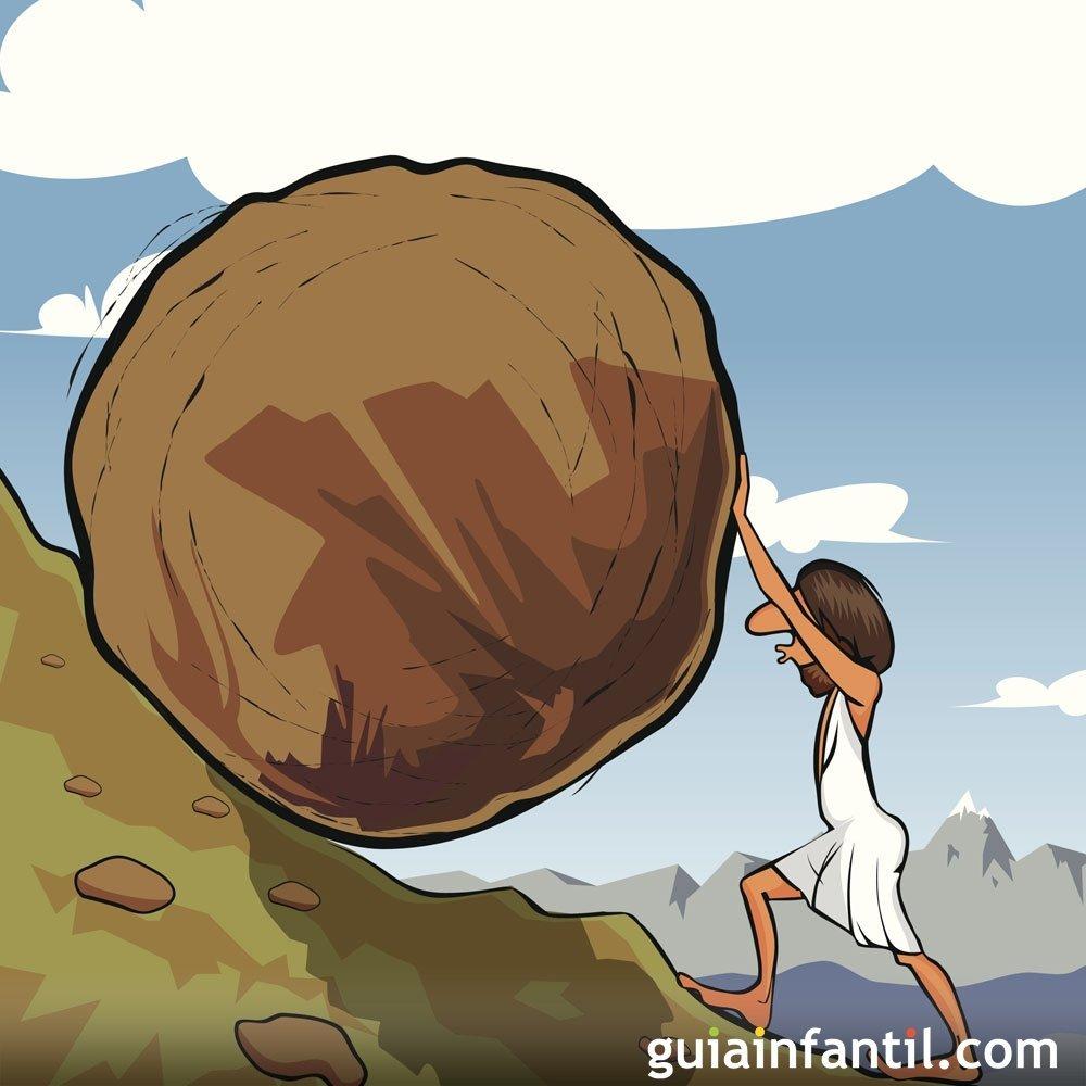 La roca de Sísifo. Cuentos cortos de la mitología griega