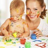 Cómo hacer pintura casera para los niños