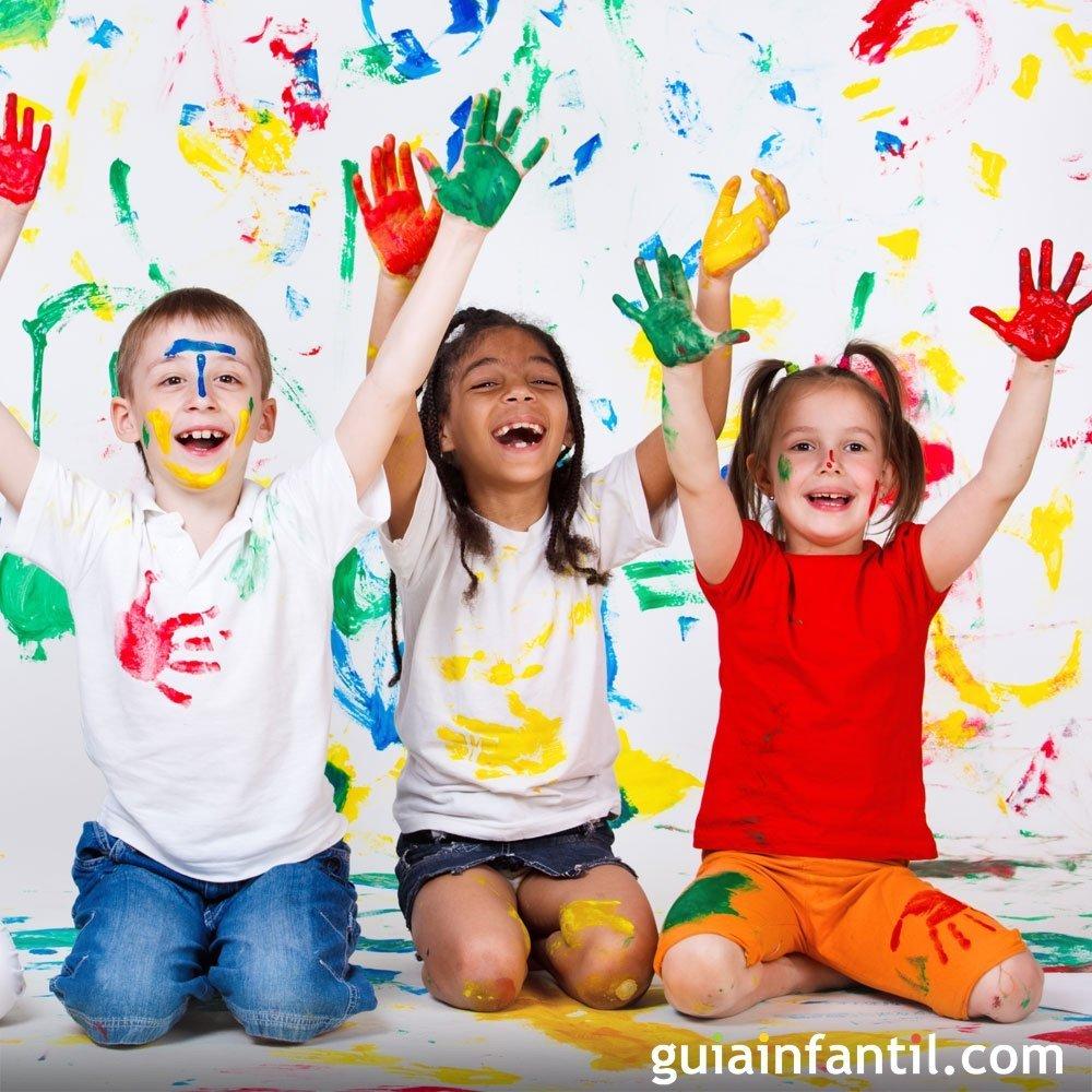 Píntate De Optimismo Y Creatividad: 7 Formas De Despertar La Creatividad De Los Niños