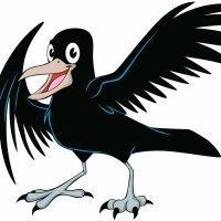 Los cuervos. Poema corto para niños