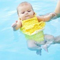 Actividades para bebés y niños en el agua