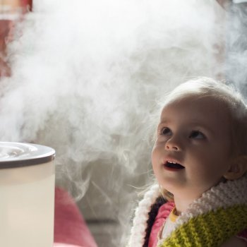 Cómo utilizar el humidificador con los niños