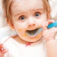 Por qué no dar verduras de hoja verde a los bebés