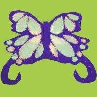 Alas de mariposa. Manualidades de disfraces para niños