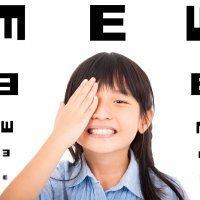 Niños con ambliopía u ojo vago