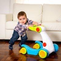 Ventajas y desventajas del andador para bebés