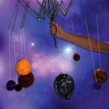 Sistema solar con papel maché. Manualidades para niños