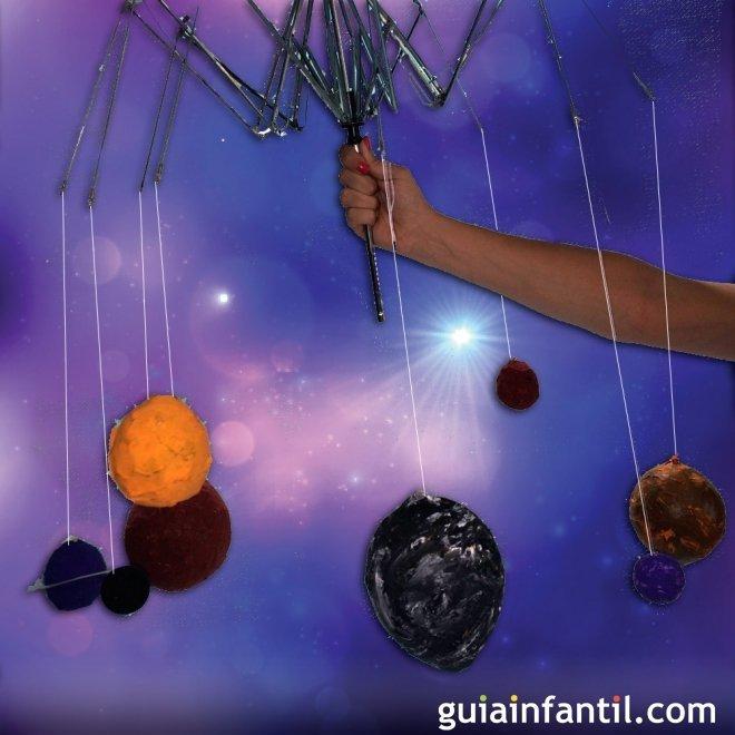 sistema solar con papel mach manualidades para ni os