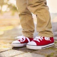Niños con pies valgos