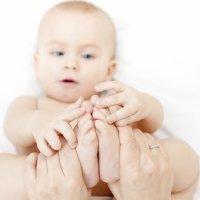 Masaje para bebés con Síndrome de Down