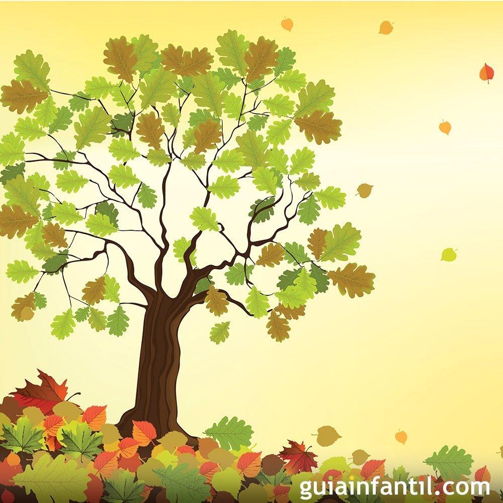 El árbol del otoño. Cuentos sobre las estaciones para niños
