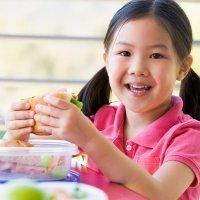 El almuerzo de los niños