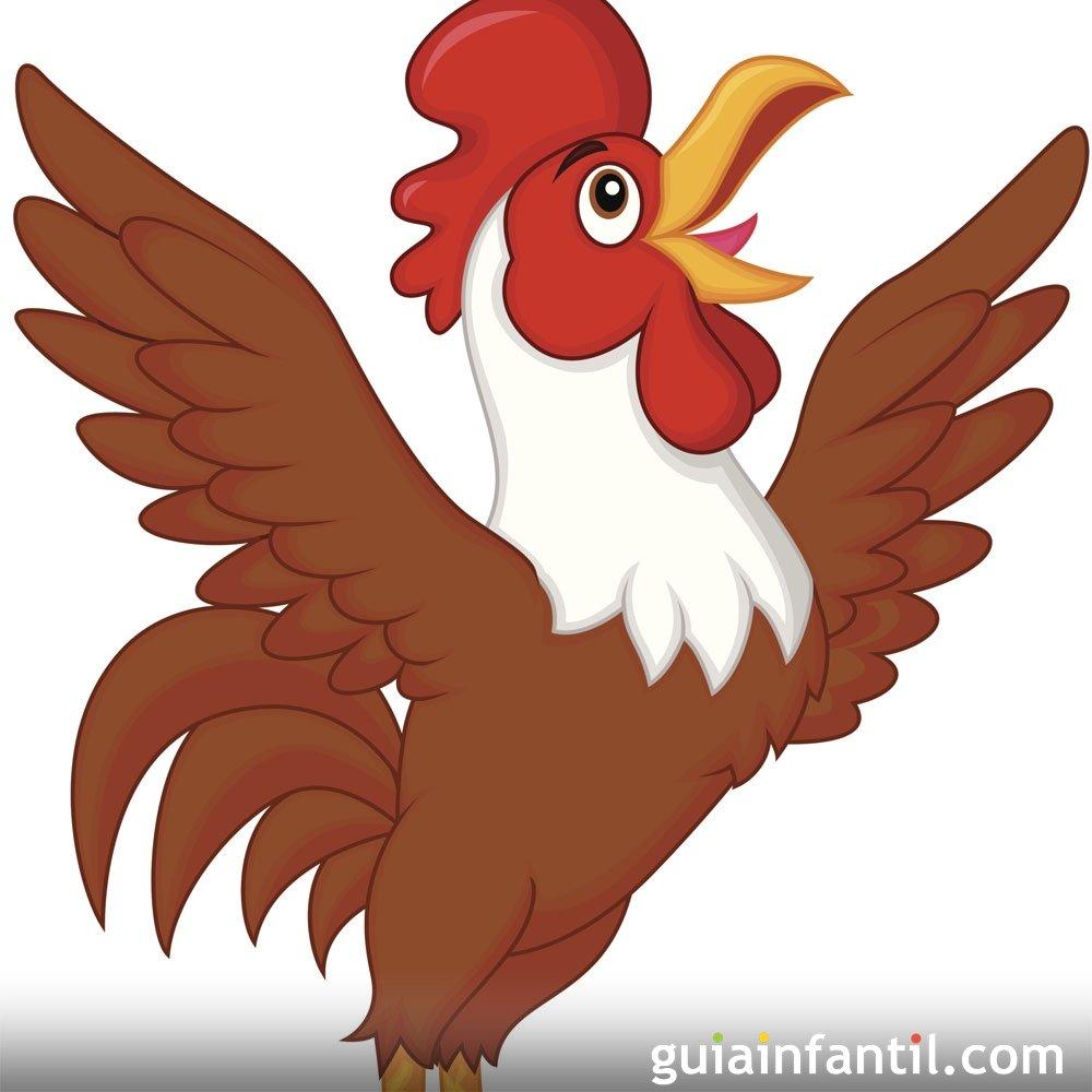 Los gallos cantores. Poesía corta para niños