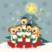Noël blanc. Canción navideña en francés