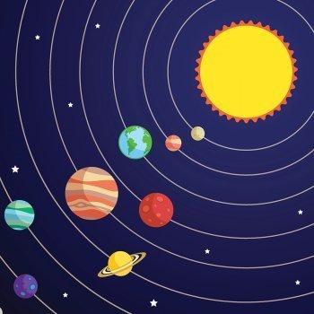 Cuento corto del Sistema Solar