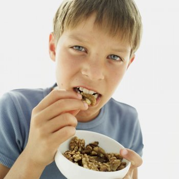 Beneficios de los frutos secos para los niños