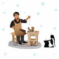 El zapatero y los duendes. Cuento navideño para los niños