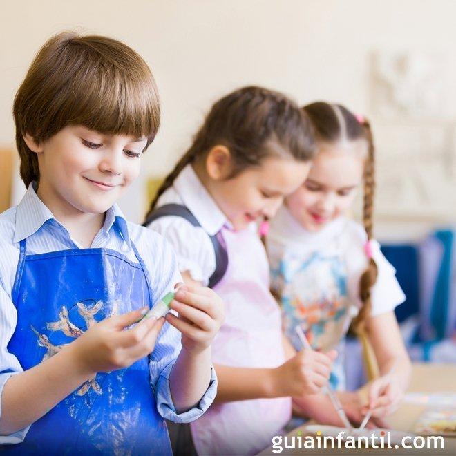 Para De Manualidades Niños Años 7 QCdhtsr