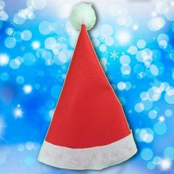 Gorro de Papá Noel con fieltro