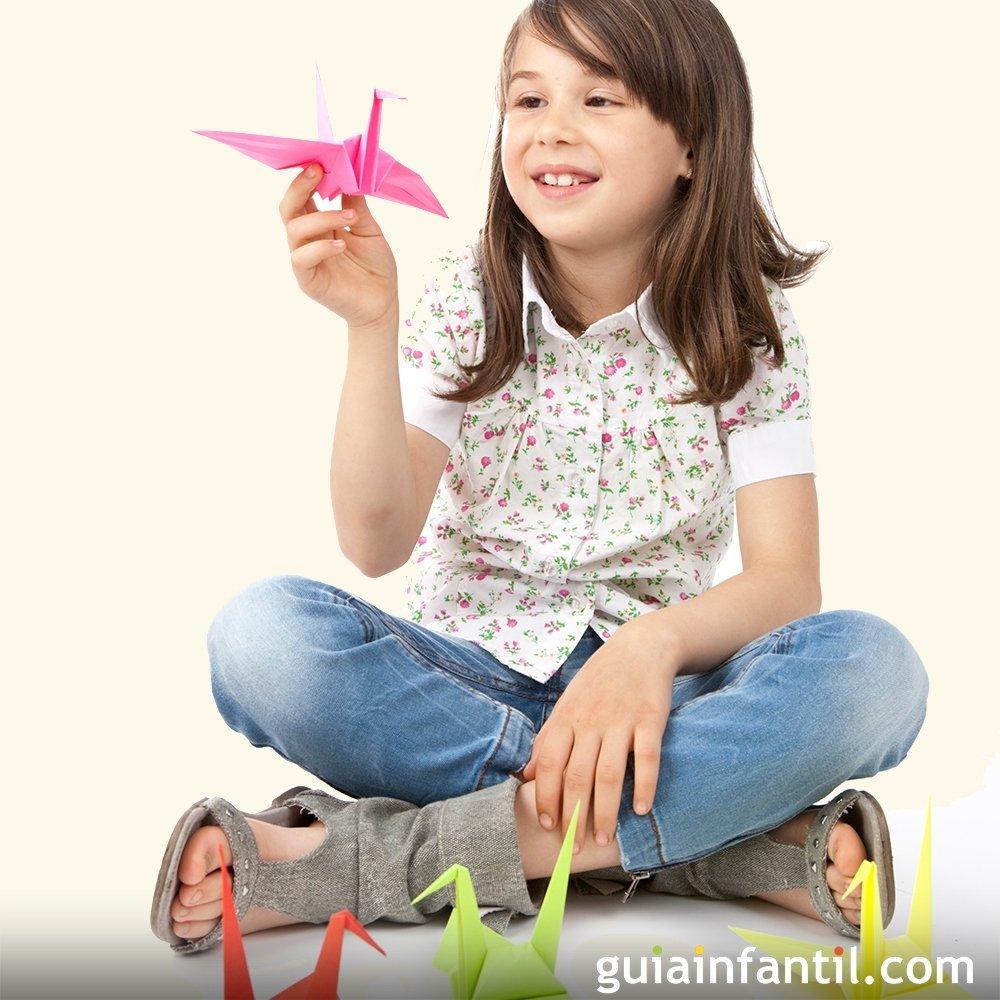 10 beneficios del origami para niños