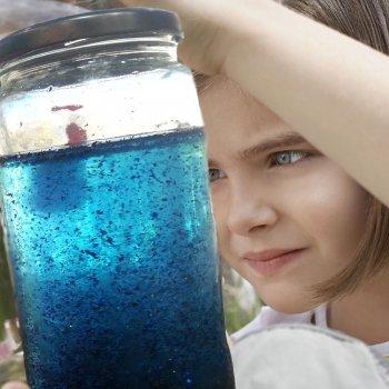 Cómo hacer una botella de la calma o bote mágico para niños