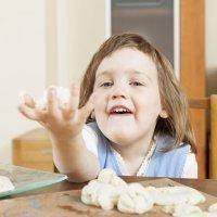 Cómo hacer pasta de sal. Manualidades infantiles