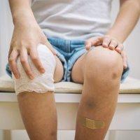 El esguince de rodilla en los niños