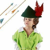 Sombrero de Robin Hood. Manualidades de disfraces